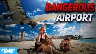TOP 10 DANGEROUS AIRPORTS In the World 2020