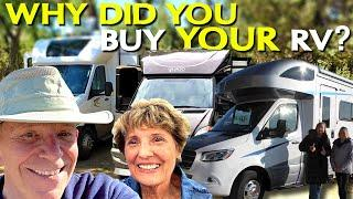 The Reasons Why We Buy RVs