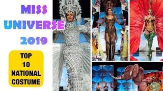 MISS UNIVERSE 2019 | TOP 10 NATIONAL COSTUME | RANDOM ORDER