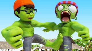 Scary Teacher TV – NickHulk and Tani vs Zombie Rubber Man Best of Troll Miss T COMPILATION Animation