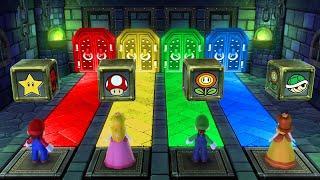 Mario Party 10 MiniGames - Mario Vs Luigi Vs Rosalina Vs Peach (Master Cpu)