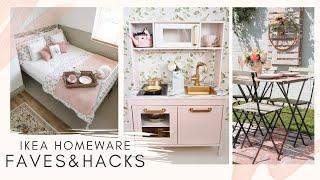 My Top 10 IKEA Homeware Items and Ikea Hacks