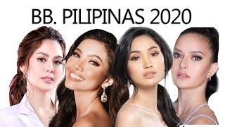TOP 10 CONFIRMED CANDIDATES - BB. PILIPINAS 2020