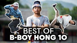 B-Boy Hong 10's BEST moments   10 YEARS of Red Bull BC One All Stars