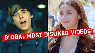 Global Most Disliked Video on Youtube of All Time  (Top 10)