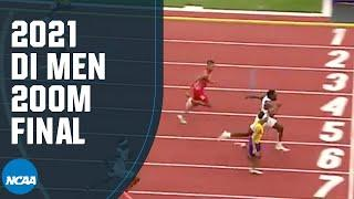 Men's 200m - 2021 NCAA track and field championship