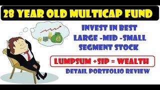BEST MULTICAP FUND FOR LONG TERM INVESTMENT || 28 YEAR OF HISTORY