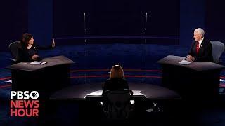WATCH: The full 2020 vice presidential debate