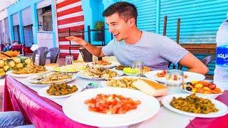 Street Food in Morocco - CASABLANCA'S BEST STREET FOOD Guide + CRAZY Good Pastilla in Rabat Morocco!