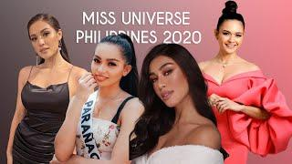 TOP 10 MOST FAVORITE FOR THE CROWN  MISS UNIVERSE PHILIPPINES 2020