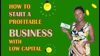HOW TO START A  PROFITABLE BUSINESS - TOP  BUSINESS IDEAS (FINAL PART)
