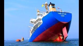 Top 10 Big Ships Flooding Waves In Giant Storm! Sinking Ships