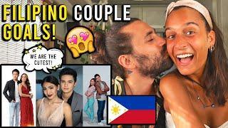 The MOST Beautiful FILIPINO COUPLE Celebrities!