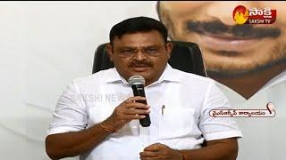 MLA Ambati Rambabu Press Met Live | Supreme Court decision On AP local polls | Sakshi TV