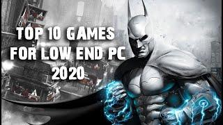 Top 10 Best Games For Low End PC 2020 | 2GB Ram PCs | Old Laptop