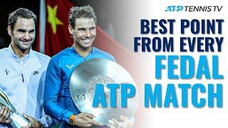 The Best Point From Every Federer vs Nadal ATP Match