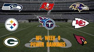 Top 10 NFL Power Rankings Week 9