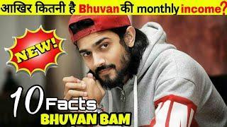 Bhuvan Bam: top 10 amazing facts in hindi रोचक तथ्य |  BB की EARNING 10000000 ?