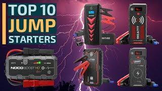 Top 10: Best Car Jump Starters for 2020 / Portable Car Battery Charger / Battery Booster