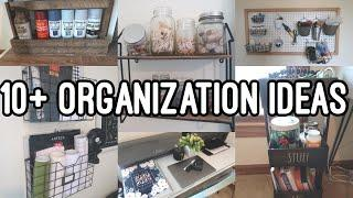 10+ Organization Ideas   Craft Room Organization   Organize my craft room