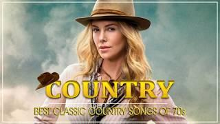 Best Classic Country Songs Of 1970s - Greatest 70s Country Music Collection - Top Old Country Songs