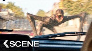 First Attack by the Monsters! Scene - A QUIET PLACE 2 (2020)