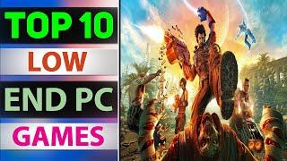 TOP 10 BEST low end pc games 4gb ram | without graphics card ||SPECS PC NO GRAPHICS CARD