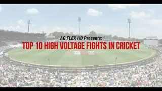 Top 10 fight on cricket field | High voltage fight