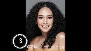 Miss Universe Philippines 2020 Top 10 Head shots
