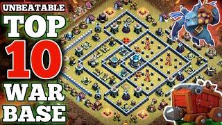 *Unbeatable* Top 10 TH13 War Base 2020   Base Link Given In Video Description (Clash of Clans)