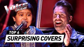 Most SURPRISING COVERS in The Voice Kids