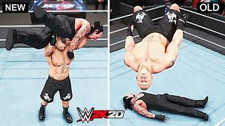 WWE 2K20 Top 10 New Finishers vs Old Finishers!! Part 3