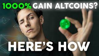 10X Altcoins Are Everywhere in Crypto - Here's how to find them! | Get Rich With Crypto