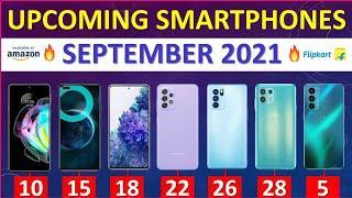Top Upcoming Smartphones September 2021