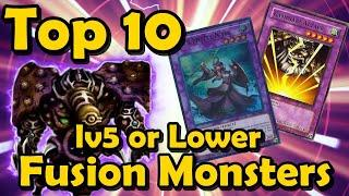 Top 10 Level 5 or Lower Fusion Monsters (Instant Fusion Targets) in YuGiOh
