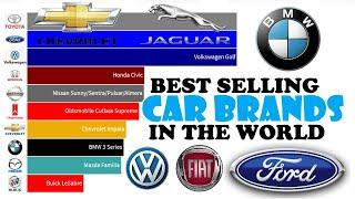 TOP 10 Best-Selling Car Brands in the World   Best-Selling Car Brand (1990-2019)