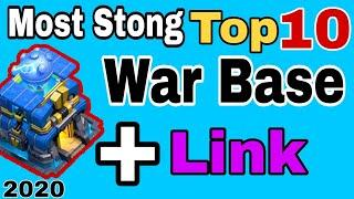 TH12 Super Stong Top 10 War Base With Link 2020 | TH12 Anti 2 Star War Base | TH12 Top War Base 2020