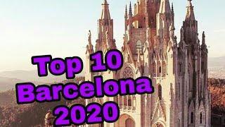 Barcelona Top 10/ Top 10 Tourist Attractions in Barcelona/Barcelona Spain