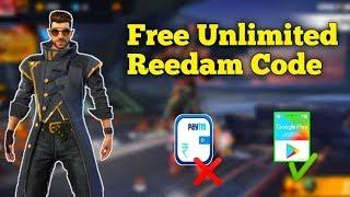 Free Fire Free unlimited Redeem Code 2020 - Garena Free Fire | Free Diamond's