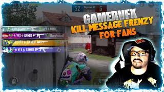 PUBG MOBILE JOINED A RANDOM LOBBY AND FOUND FANS ! LOBBY EMOTES AND TDM KILL MESSAGE FRENZY !