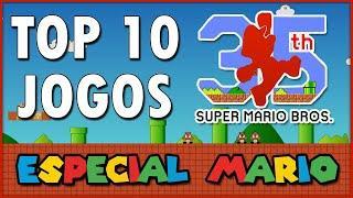 Top 10 Jogos do Super Mario || Especial de 35 anos de Super Mario Bros.
