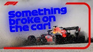 Max's Blowout, George's Safety Car Spin And The Best Team Radio | 2020 Emilia Romagna Grand Prix