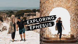 Exploring EPHESUS ruins, a top place to visit in Turkey || Travel vlog after pandemic