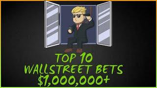 Top 10 Craziest Wallstreet  Bets Ever. December 2020 (WSB YOLO OPTIONS TRADING)