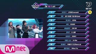 What are the TOP10 Songs in 3rd week of February? M COUNTDOWN 200220 EP.653