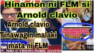 Arnold the fake news clavio    alitan ni FLM at arnold clavio