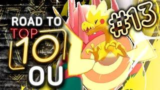 Pokemon Showdown Road to Top Ten: Pokemon Sword & Shield OU w/ PokeaimMD #13