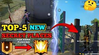 Top-5  Hidden & Secret Place in Free Fire For Rank Pushing