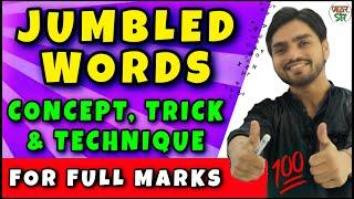 Jumble Words Tricks | Rearrangement of Sentence English/Grammar/Question/Answer/Concept | Class 9/10