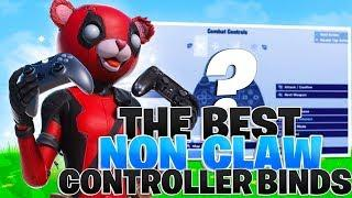 The BEST Controller Binds For Non-Claw Players! (Fortnite PS4 + Xbox Binds)